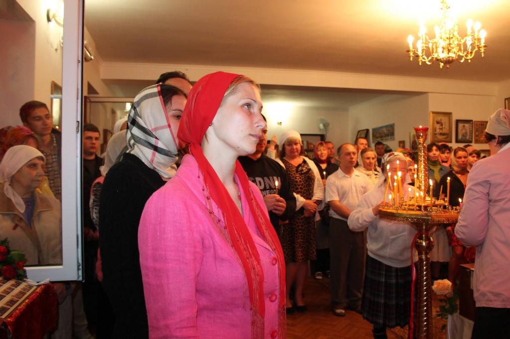Пасхального Богослужения 5 мая 2013 года в Храме Вознесения Господня